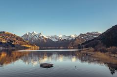 Mountain Reflection (mb.graphx) Tags: switzerland swiss mountains alps lake water sunset sun landscape nature fujifilm xt3 reflection beautiful gorgeous