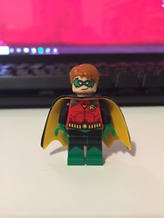 DC's Drake (Earth 3) (Numbuh1Nerd) Tags: lego purist custom dc superheroes minifigures comics tim drake red robin earth 3 supervillain multiverse villain young justice wonder