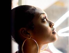 Ny (Sterling S. Gold) Tags: face portrait portraitphotography losangeles koreatown portraits beauty sterlinggoldphotos blackwoman blackgirlmagic life