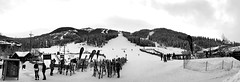 Panorama Ski Hill  HFF (Mr. Happy Face - Peace :)) Tags: art2020 black white bw bc ski mountain panorama kootenays