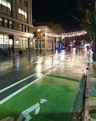 A rainy night on Polk Street in San Francisco (JoeGarity) Tags: street urban city wet reflections rain rainy polkstreet sanfrancisco california