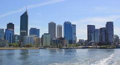 Perth skyline (Graham`s pics) Tags: perth perthskyline wa westernaustralia australia travel tourism swanriver rivercruise