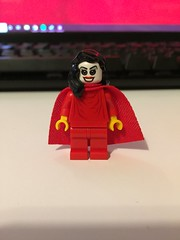 DC's Warlock's Daughter (Numbuh1Nerd) Tags: lego purist custom dc superheroes minifigures comics tim drake robin shadowpact stephanie brown spoiler johnny warlock