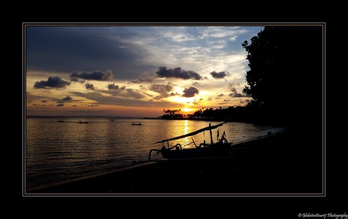 Coucher de soleil- Senggigi- Lombok- Indonésie- Indonesia