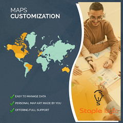 Maps Customization (Data Visualization Gurus) Tags: maps custom pdf dynamic