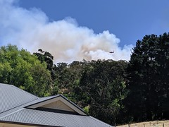 Fire in Clarendon SA (nickant44) Tags: bushfire wildfire clarendon south australia
