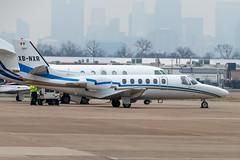 XB-NXR Cessna Citation II 550-0216 KDAL (CanAmJetz) Tags: nikon xbnxr citation cessna 5500216 kdal dal bizjet aircraft airplane