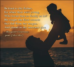 A THOUGHT FOR TODAY from A.Word.A.Day (Wordsmith.org) Tags: quoteoftheday bornonthisday quote quotes father dad fathersday fathers dads parenting reminders lifeadvice thursdaythoughts parents