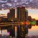 Tampa Sunrise Reflections Vertical