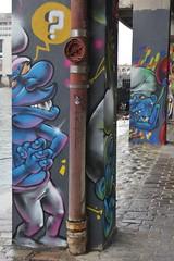 Berthet One_7072 quai d'Austerlitz Paris 13 (meuh1246) Tags: streetart paris berthetone quaidausterlitz paris13 schtroumpf