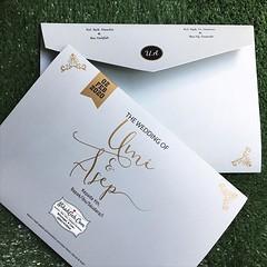 Wedding Invitation Umi & Asep Tanya-tanya, atau info lebih lanjut hubungi : ☎ WA : 08561410064 Line : nikahgeh Desain bisa cek di 👉 http://bit.ly/2rnZvXk #nikahgeh #weddingserang #undanganserang #infoserang #undanganminimalis #guestbook #bukut (NikahGeh) Tags: instagram nikahgeh invitation
