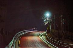 2132/1737:z (june1777) Tags: snap street alley seoul night light bokeh sony a7ii industar 502 50mm f35 russian m42 12800 clear bugahyeondong vin9