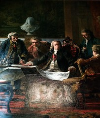 Marquês de Pombal and his coworkers studying Lisbon reconstruction plans after the earthquake -  Miguel Ângelo Lupi (1826 - 1883) (pedrosimoes7) Tags: miguelângelolupi marquêsdepombal lisbonearthquake1755lisbon town museumcampo grande lisbon portugal ✩ecoledesbeauxarts✩