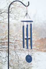 snow on the wind chime 16Jan20 (johngpt) Tags: fujifilmxt1 windchime snowing snow helios44258mm fotodioxm42fxadapter