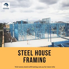Steel Frame Manufacturers (industrialcyber) Tags: steelframehouse steelhouse steelwall metalstudframing steelframeconstruction constructionbusiness modularhomes prefabhomes casascontainers stainlesssteel iron custom