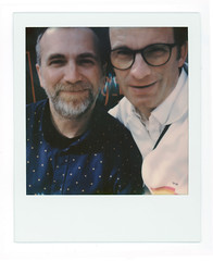 Doc and I (scottboms) Tags: animpossibleproject film projects polaroid instantfilm polaroidoriginals sx70