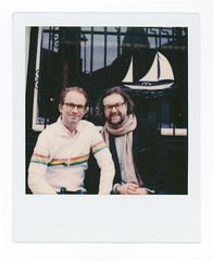 Doc and Jens (scottboms) Tags: animpossibleproject film projects polaroid instantfilm polaroidoriginals sx70