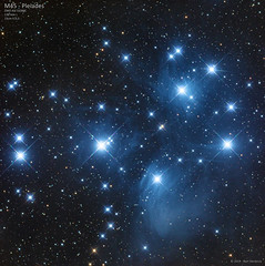 M45-Pleiades-127min (bdeclerc) Tags: astronomy astro astrophotography astrometrydotnet:id=nova3880146 astrometrydotnet:status=solved