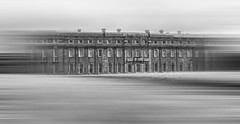 Petworth House (Trev Packer Photography) Tags: petworth petworthhouse sussex westsussex eastsussex house architecture mono monochrome landscape motion motionblur