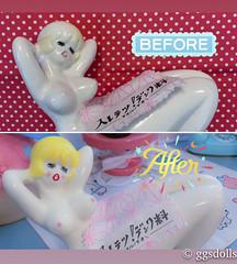 Restored! (ggsdolls✿2) Tags: vintage ado sexy lady coin bank japan etsy ggsdolls restored