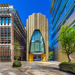 3 Broadgate - London, UK (davidgutierrez.co.uk) Tags: london photography davidgutierrezphotography city art architecture nikond810 nikon urban travel color night blue photographer tokyo paris bilbao hongkong uk skyscraper bridge londonphotographer colors colour colours colourful vibrant england unitedkingdom 伦敦 londyn ロンドン 런던 лондон londres londra europe beautiful cityscape davidgutierrez capital structure britain greatbritain ultrawideangle afsnikkor1424mmf28ged 1424mm d810 arts street streetphotography 倫敦 bluesky sky 3broadgate bishopsgate thecity
