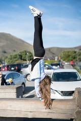 Gymnastics On-The-Go (tourtrophy) Tags: pikeflip goldengate girl gymnast carlzeisscsonnar50mmf15zm sonya7rii adidas