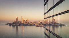 Kowloon (Andrew G Robertson) Tags: hong kong kowloon syline dawn sunrise reflection cityscape