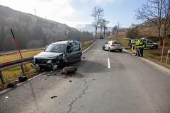 191111 Unfall (Bernd März) Tags: berndmärz verkehrsunfall verkehrsunfallb95 verkehrsunfallb95oberwiesenthal vku vkub95 b95oberwiesenthal