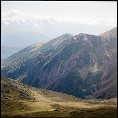 (Suharik moi) Tags: 120mm 6x6 film color kodak mamiya svaneti caucasus geprgia mountain koruldi