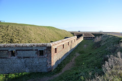 Shoreham Fort Ditch and Rampart (davids pix) Tags: shoreham fort sussex river adur harbour napoleon iii napoleonic palmerston kingston redoubt 2020 03012020