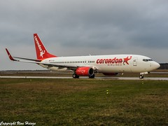 Corendon Airlines TC-TJO OMD (U. Heinze) Tags: aircraft airlines airways airplane planespotting plane flugzeug haj hannoverlangenhagenairporthaj eddv olympus omd em1markii 12100mm