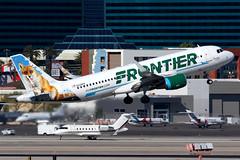 Frontier Airlines | Airbus A320-200 | N229FR | Las Vegas McCarran (Dennis HKG) Tags: aircraft airplane airport plane planespotting canon 7d 100400 lasvegas mccarran klas las n229fr frontier frontierairlines fft f9 airbus a320 airbusa320 sharklets