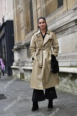 9334355cq (sylbd) Tags: street style spring summer 2018 haute couture fashion week paris france 23 jan ss18 pfw beige brown mac macintosh raincoat coat black wide leg legged trousers boots alone female fulllength notpersonality 68208502