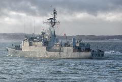 IMG_3506aa_DxO   *** Best viewed full screen *** (alanbryherhowell) Tags: portsmouth solent navy french warship frigate corvette f793 blaison commandant