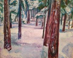Winter by Edvard Munch (hansjoergBo) Tags: finearts oilpainting edvardmunch winter