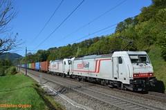 TX Logistik BR 186 905-6, BR 186 904-9 (isebahnverchehr.ch) Tags: txlogistik br186 bombardier traxx bözberg