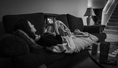 Day 795 | Down For The Count (JL2.8) Tags: boise idaho unitedstatesofamerica canon 6dmk2 project365 365 photochallenge year3 day795 bw blackandwhite mono monochrome portrait