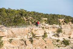 Walking is Better Than Running Away (Thomas Hawk) Tags: america arizona grandcanyon grandcanyonnationalpark thegrandcanyon usa unitedstates unitedstatesofamerica grandcanyonvillage fav10