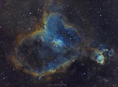 La Nébuleuse du coeur (Camille COLOMB) Tags: astronomie astrophoto astrophotography astro astronomy deepsky deepskyphotography nightphotography n