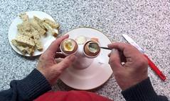 Boiled eggs & soldiers 272-366 (13-4656) (♔ Georgie R) Tags: boiledeggs soldiers werehere wah hereio