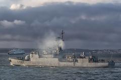 IMG_3502aa_DxO *** Best viewed full screen *** (alanbryherhowell) Tags: commandant blaison f793 corvette frigate warship french navy solent portsmouth