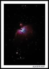 The Orion Nebula (nigelnaturist) Tags: photography canon6d stars skywather orion nebula astro