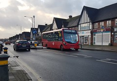 Photo of WS1 LJ12 CGF on route R3, traverses by the Pet Shop of Petts Wood, 17th January 2020.
