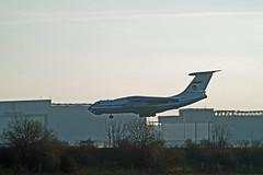 Berlin SXF 17.1.2020  IL-76 MD (rieblinga) Tags: berlin sxf 1712020 landung il76 md russische luftwaffe schönefeld staatsbesuch putin libyen gipfel konferenz