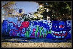 Graffitis sur un mur du Racou (bleumarie) Tags: 11janvier2020 hiver20192020 janvier2020 leracou littoralméditerranéen mariebousquet nikond90 suddelafrance argelès bleu bleumarie catalogne eau france hiver janvier languedocroussillon littoral méditerranée méridional mer midi nature nikon occitanie paysage port portargelès pyrénéesorientales roussillon sud