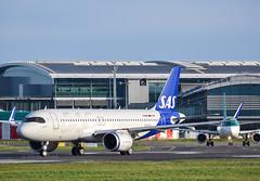 SE-ROK                         A320-251N             SAS (Gormanston spotter) Tags: serok sas a320251n airbus dub 2020 avgeek eidw a320neo gormanstonspotter
