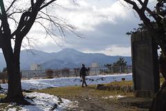 Walking a dog (しまむー) Tags: pentax k30 smc dal da 1850mm 2875mm f456 dc wr re northern tohoku round trip 北東北 北海道&東日本パス