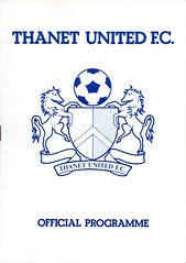 Thanet United v Waterlooville (Havant & Waterlooville) Tags: havant waterlooville thanet united margate southern league football programme