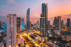 Mahanakhon Sathorn | Bangkok Thailand (kachaneawsuparp) Tags: sony sonya7rii 1635 16mm 1635gm 1635mm 15mm fe fullframe f28 fulframe emount 35mm gm gmaster thailand bangkok a7rii a7 lens landscape cityscape wide l siam h