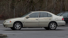 Nissan Altima (mlokren) Tags: 2020 car spotting photo photography photos pic picture pics pictures pacific northwest pnw pacnw oregon usa vehicle vehicles vehicular automobile automobiles automotive transportation outdoor outdoors nissan altima sedan gold beige